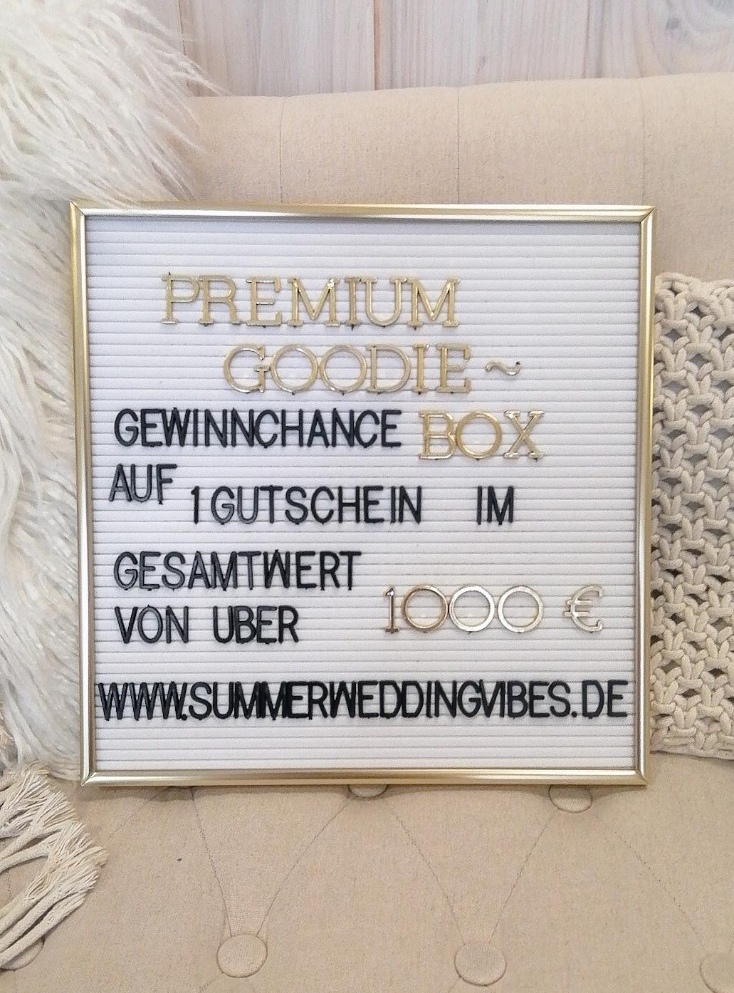 Summer Wedding Vibes Gewinnspiel Premium